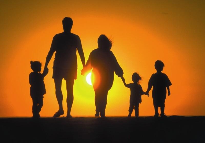familia silueta
